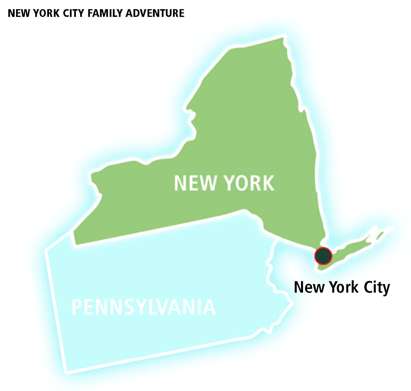 New york city family adventure amtrak vacations official for New york city tours for families
