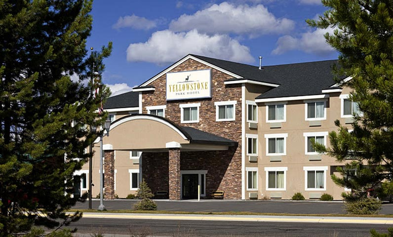 Yellowstone national park for Hotels yellowstone national park