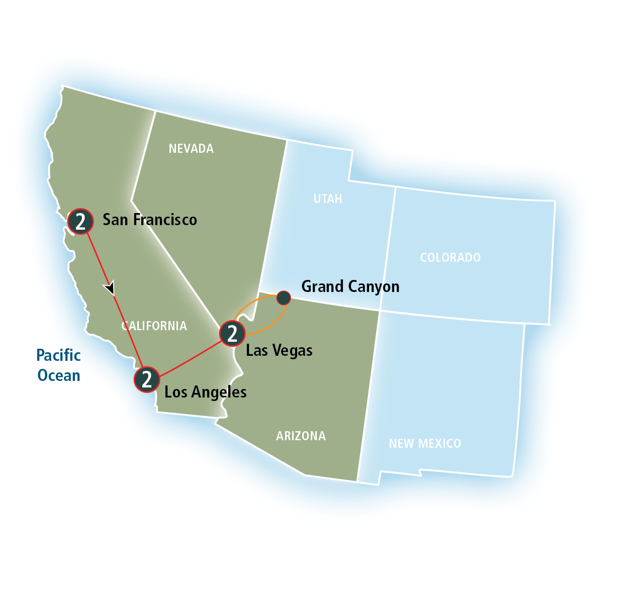 Amtrak Vacations® Official Site  California and the Golden West