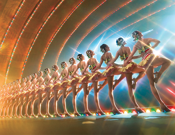 new york city rockettes package two nights amtrak vacations - How Long Is The Radio City Christmas Show