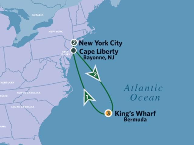 Bermuda Cruise With New York City On Celebrity Cruises